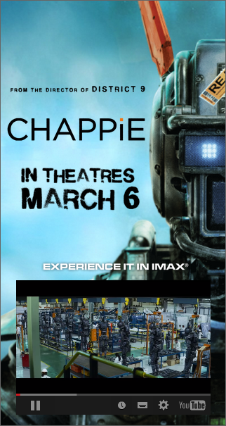 bannières html5 chappie double big box