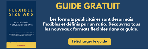 Guide flexible size ads